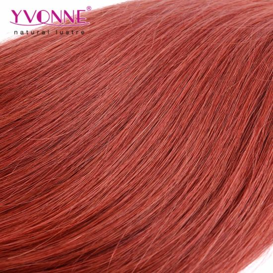 Color #35 Pre-Bonded I Tip Human Hair Extensions pictures & photos