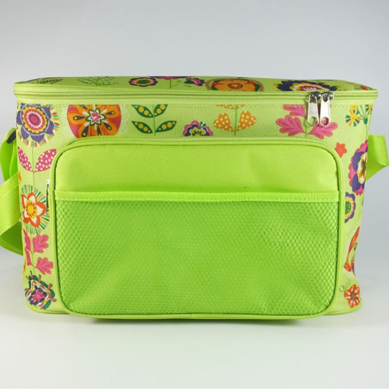 Customized Oxford Cloth Insulating Effect Food Cooler Bag Sh-16011211
