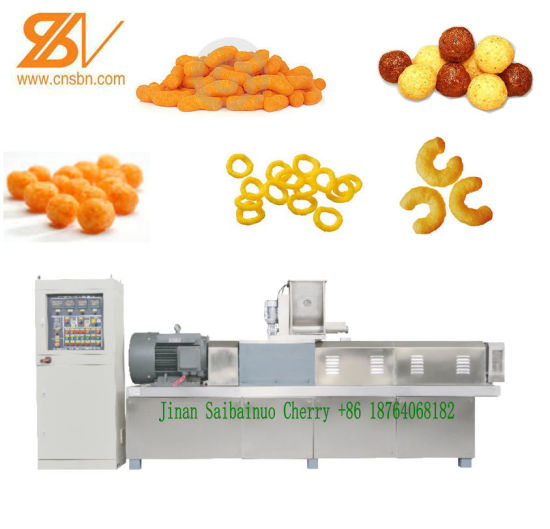 Snacks Extrusion Machine, Puffed Snack Food Extruder Food Extrusion Machine (SLG65/70/85) pictures & photos