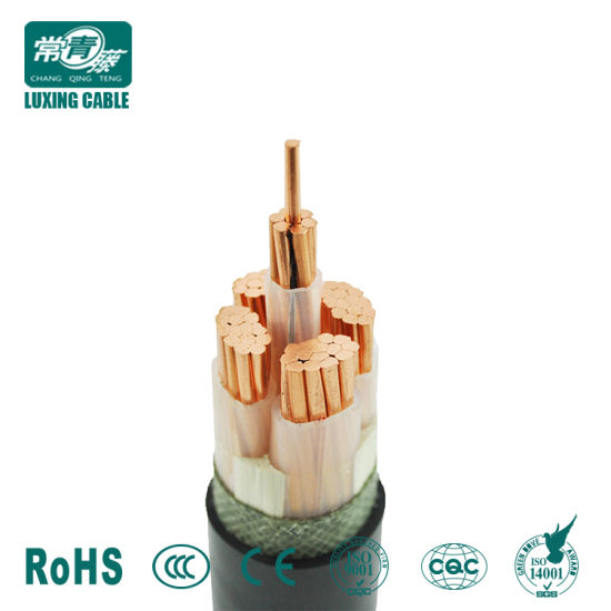 China 3 Phase 4 Wire Cores 2 3 4 5 Three Core Rubber Electric Power ...