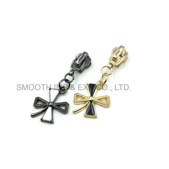 Fashion Metal Pearl Diamond Rhinestone Zipper Puller Slider Accessories Jewelry