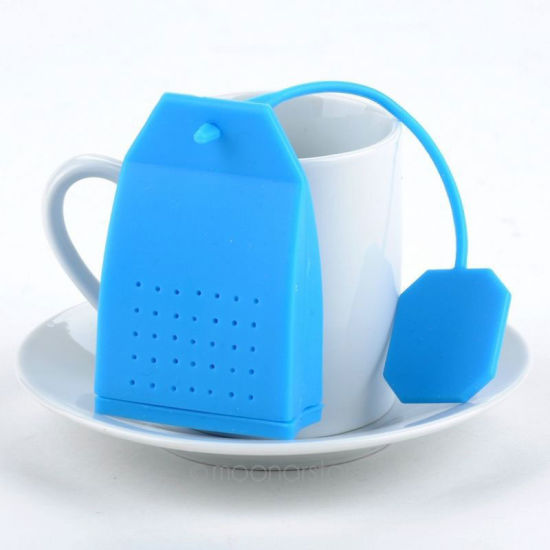 Customized Tea Bag Shape Silicone Bulk Infusers