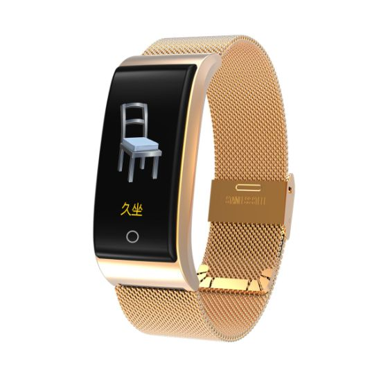 001911d6e86 Mesh Band Smart Bracelet with Blood Pressure Heart Rate Sleep Monitor  Sports Fitness Tracker for Ios Android Smartphone