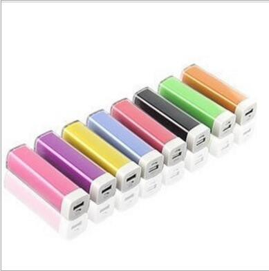 2600mAh Lipgloss Mobile Power USB Charger Portable Power Bank pictures & photos