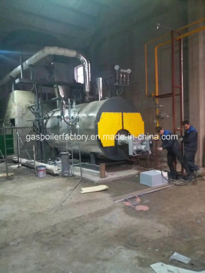 China Gas Fired Hot Water Steam Boiler / Industrial Water Tube ...