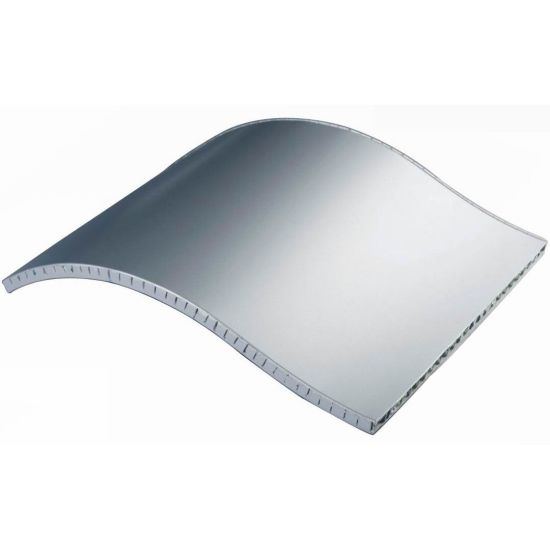 Curved Aluminum Honeycomb Panel for Facade Cladding pictures & photos