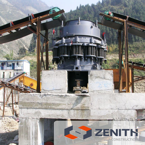 30-450tph Fixed Stone Crushing Plant-Cone Crusher pictures & photos
