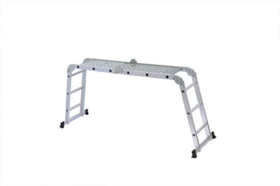 Adjustable Multi-Purpose Ladder with 12 Steps pictures & photos
