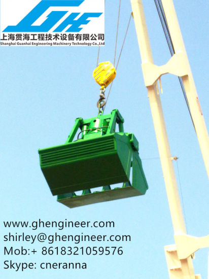 20t 28t Wo Ropes Clamshell Hydraulic Grab pictures & photos