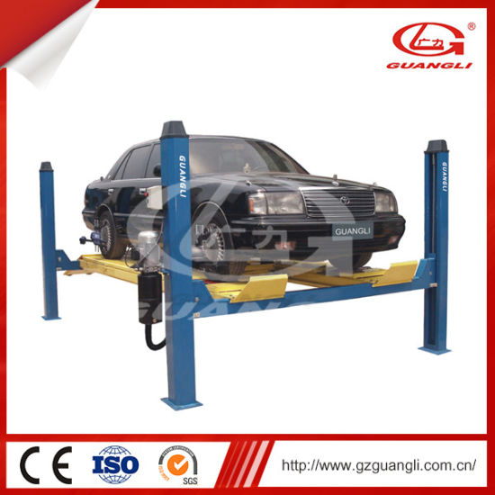China Four-Post Lift for Four-Wheel Alignment (GL-3 5-4D1