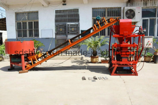 Eco 2700 Hydraulic Clay Brazil Interlocking Block Machine pictures & photos