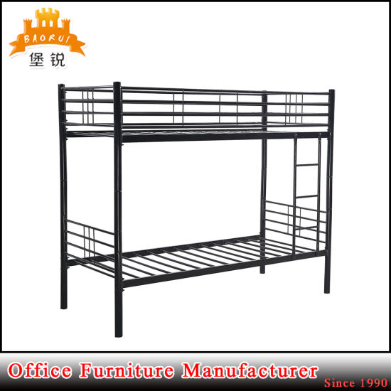Factory Supplier Strong Steel Double Tier Bunk Bed pictures & photos