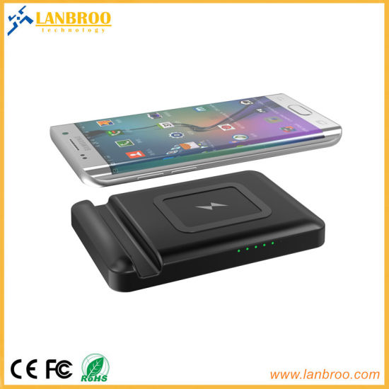Multifunction Wireless Power Bank with Mobile Phone Stand & USB Port pictures & photos