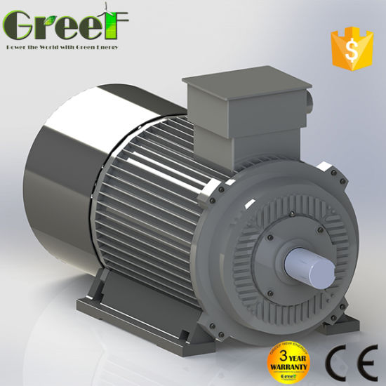 10kw 100kw 1000kw Low Rpm AC Permanent Magnet Generator pictures & photos