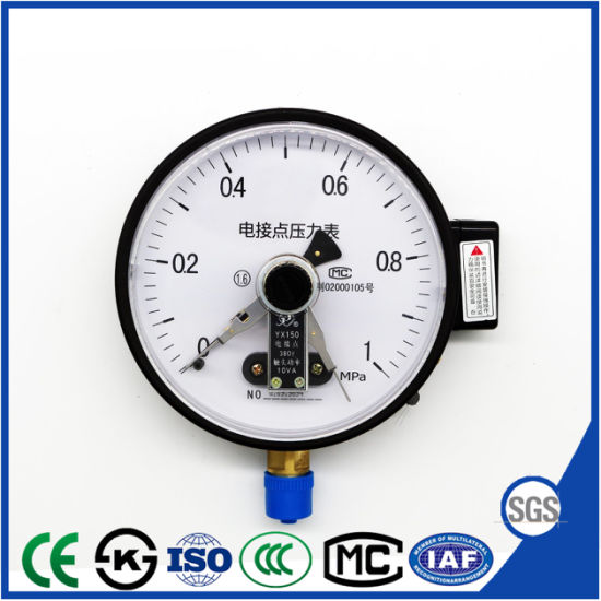 Hot Sales Manometer Reed Swich Electric Contact Pressure Gauge pictures & photos