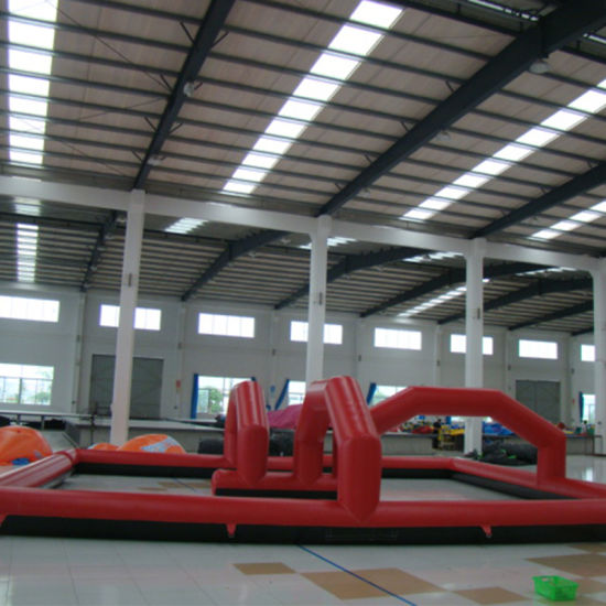 Red Inflatable Soccer Billiards pictures & photos