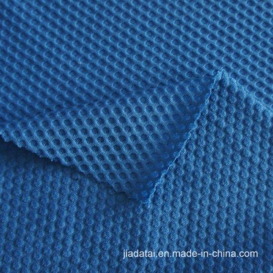 b70832da35 China Nylon Elastane Honeycomb Jacquard Mesh Fabric for Sport Bra ...