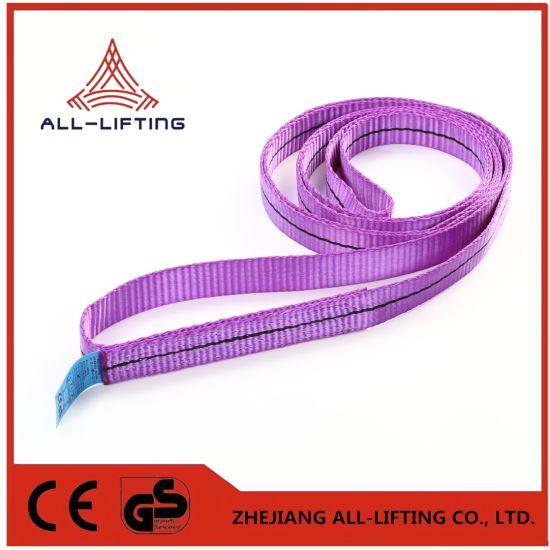 1t Single Flat Lifting Polyester Endless Webbing Sling