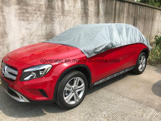 Half Top Car Cover Sun Shade Anti Water Hail Sun-Proof