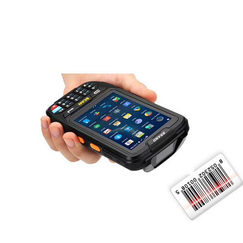 Handheld Rugged Wireless WiFi Mobile Data Capture PDA Terminal 1d Laser Qr  Code Reader 2D Android Barcode Scanner
