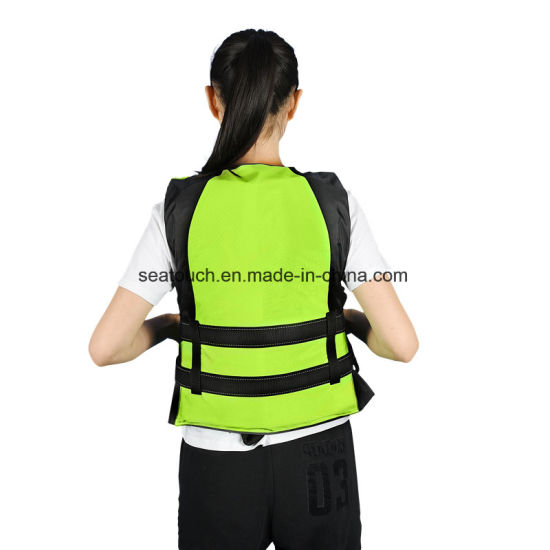 CCS Water Swimming Marine Safety Inflatable Lifejacket Vest Life Jacket with Light Whiste pictures & photos
