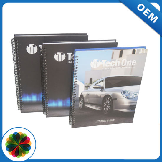 Different Color Wire Binding Book Printing