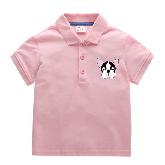 100% Cotton Comfortable Kids Boy Polo Shirts Baby Clothes