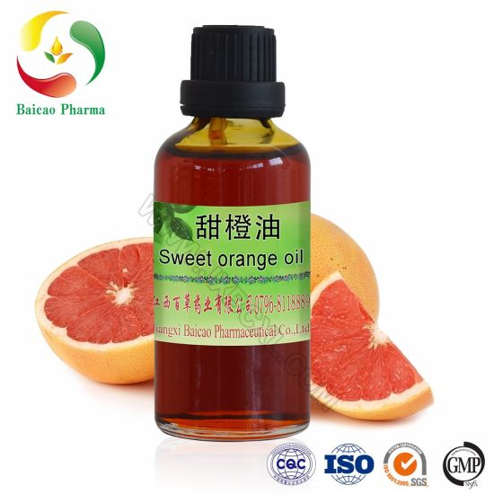 CAS No. 8028-48-6/ 8008-57-9 Perfume Orange Oil, Pure Natural Sweet Orange Essential Oil Benefits for Diffuser, Cosmetic, Fragrance, Massage