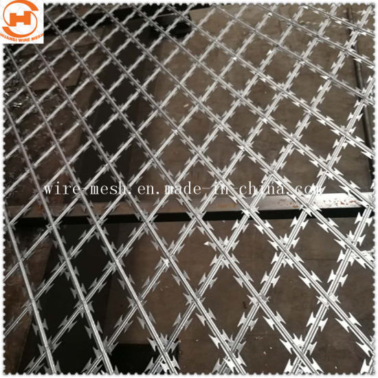 Galvanized Welded Razor Wire Mesh