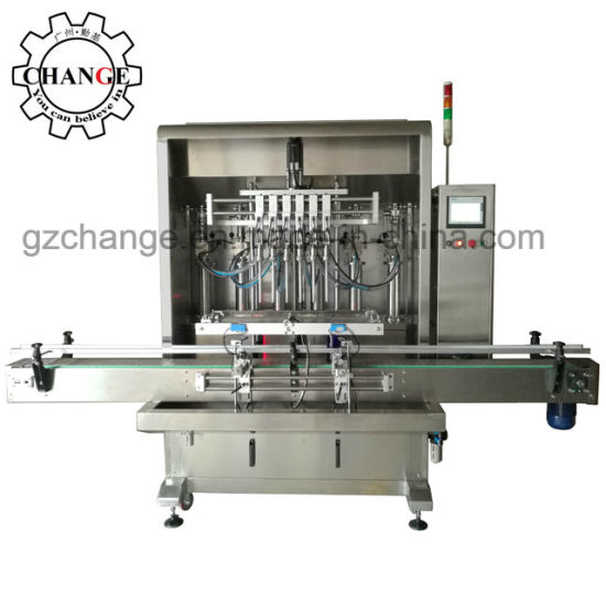 Body Lotion Shampoo Liquid Detergent Botteling Capping Labeling Production Line