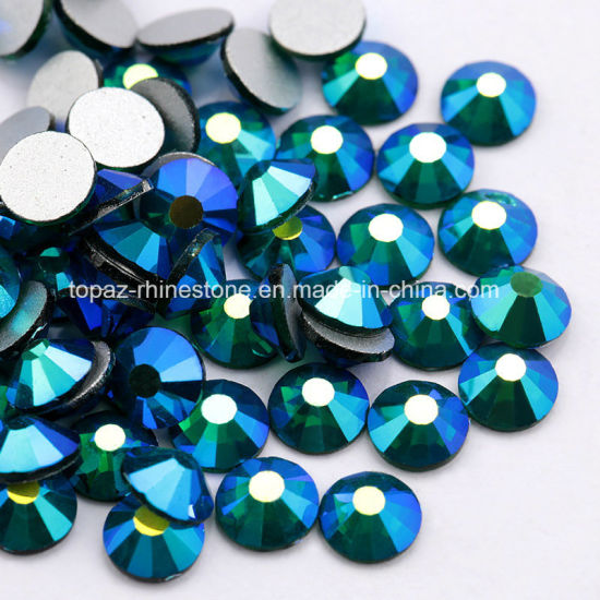 6685a3ecf7 Emerald Ab Color Ss20 Flatback Non Hotfix Glass Rhinestones for Nail Art  Deco