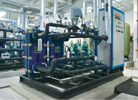 Gasketed Plate Heat Exchanger Unit for HVAC, Marine, Petrochemical pictures & photos