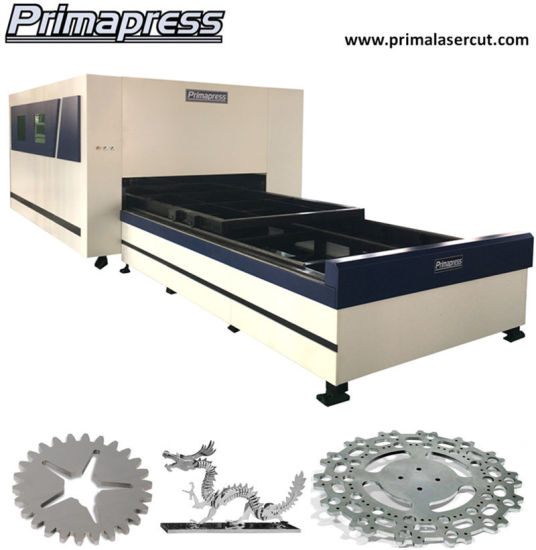 All Cover Exchange Platform 4000W Fiber Laser Cutting Machine pictures & photos