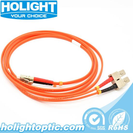 5 Meter FiberTool Duplex MM LC to ST Patch Cable 62.5//125 Fiber Optic Jumper