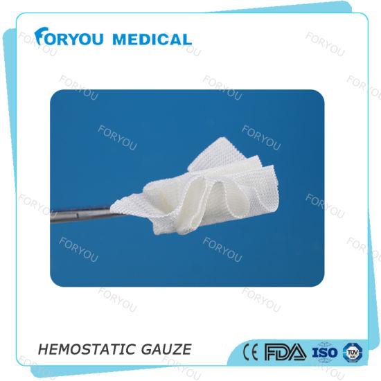 China Medical Hemostatic Gauze Cellulose Soluble FDA Ce Approved