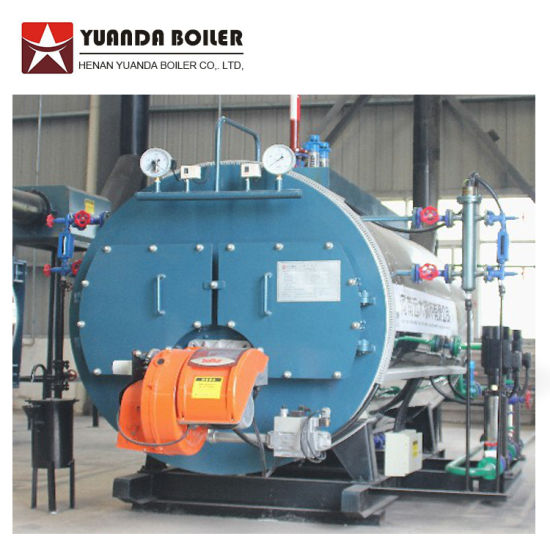 China Oil Gas Fired Steam Boiler / Diesel Burners Steam Boiler ...
