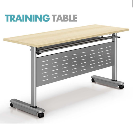 China MFC Most Popular L Shaped Conference Table Folding Training - L shaped conference table