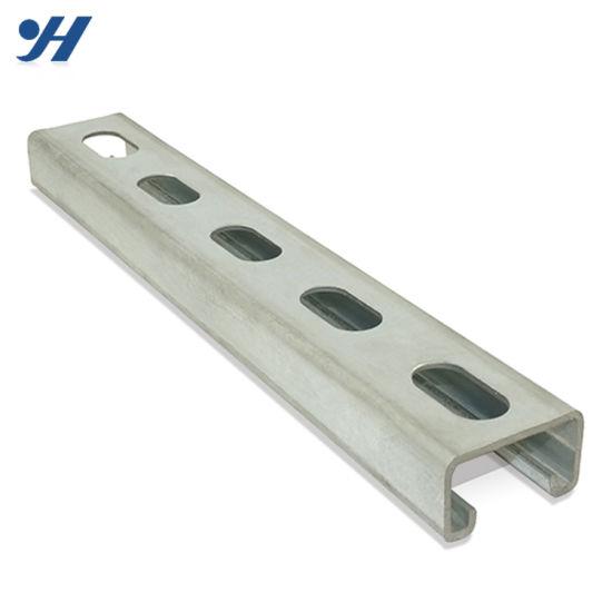 China Manufacturer Steel Brackets Uni Strut Channel