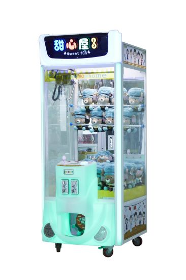 Sweet Fun02/Gift/Game /Claw Machine/Game Player/Arcade Game Machines/Video Game/Amusement Machine/Arcade Machine/Game Machine