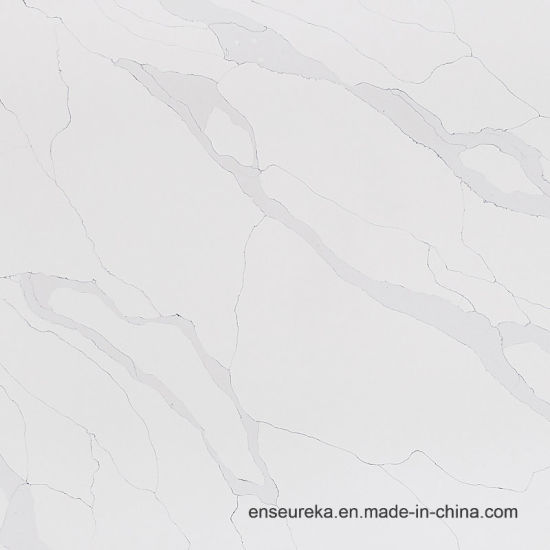 Wholesale Engineering New Calacatta Quartz Stone Kitchen Top pictures & photos