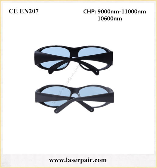 Protective Medicine 10600nm CO2 Laser Safety Goggles Glasses with Od 6+