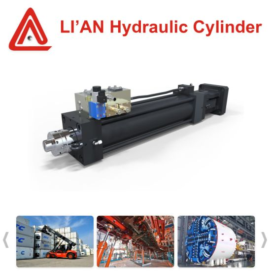 High Quality Nonstandard Straight Trip Servo Cylinder for Testing Technology pictures & photos