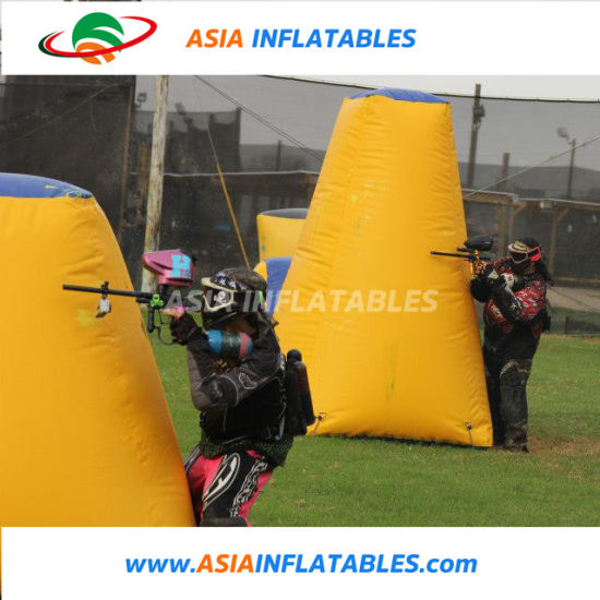 China Kids Portable Inflatable Laser Tag/ Paintball Bunker Sport