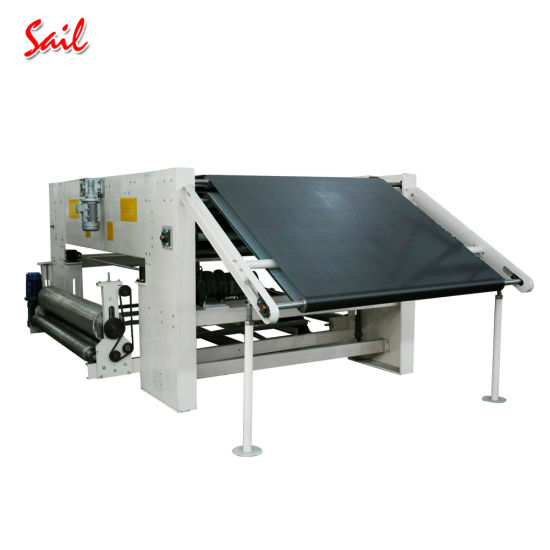 Changshu Nonwoven Cross Lapper Machine Making Needle Punching Nonwoven pictures & photos