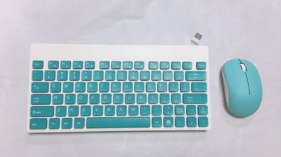 Wireless Keyboard and Mouse Set for Laptop and Office
