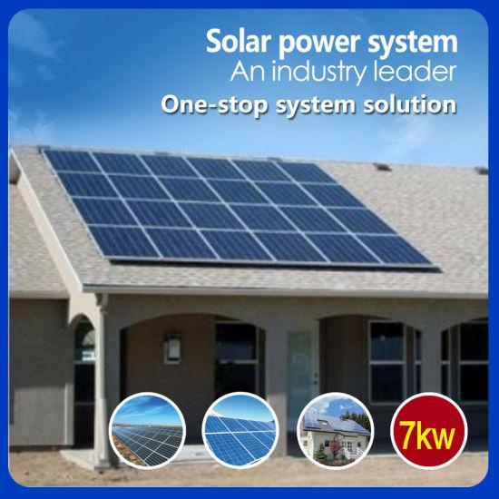 7kw on-Grid Home Solar Power System Longitech Solar Energy household Solar Power System 2