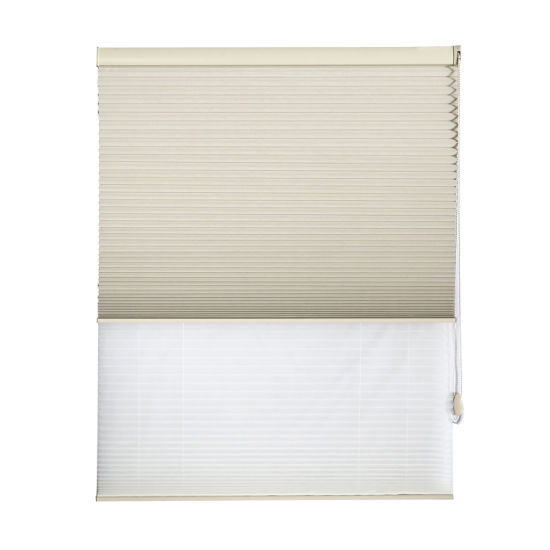 Black out Fabric Day and Night Honeycomb Blinds Window Shade Roller Blinds Customized pictures & photos