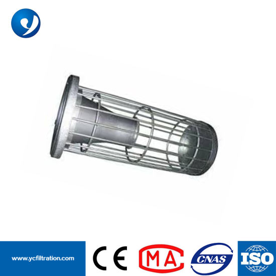 Yuanchen Wholesale High Temperature Resistance Steel Filter Bag Cage