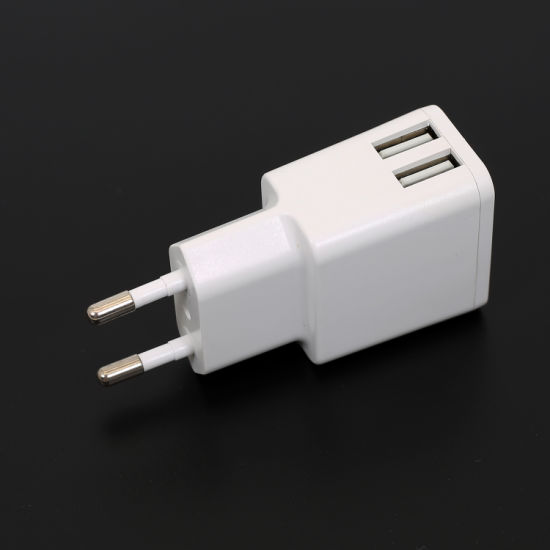Dual USB Charger 5V2.4A with Ce GS ERP RoHS Reach pictures & photos