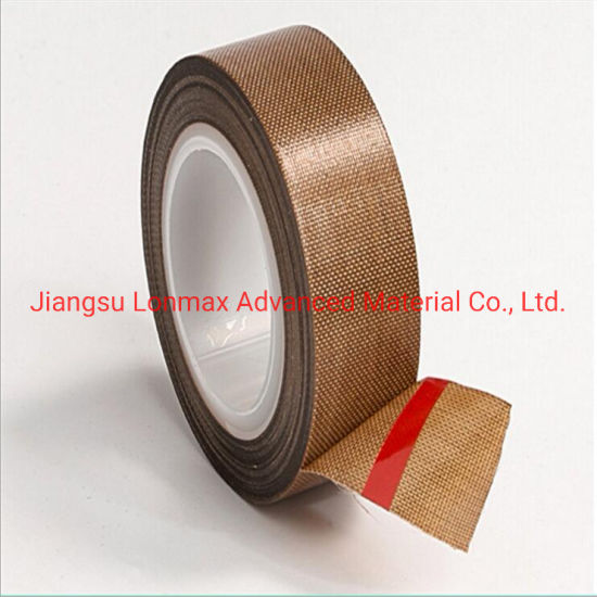 Factory Direct Sale Chinese Supplier High Temperature Adhesive PTFE Composite Materal Fiberglass Tape
